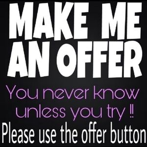 Other - ⚡️Make me a reasonable offer⚡️